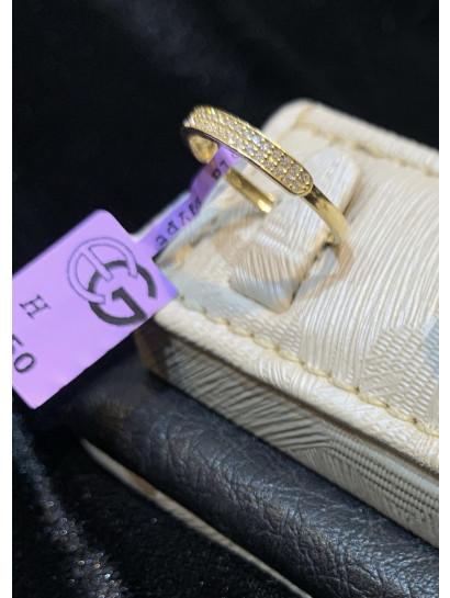 خاتم ذهب عيار 18 من ايجيبت جولد Egypt gold 1260