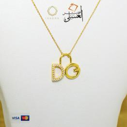 كوليه ذهب عيار 18 من ايجيبت جولد Egypt gold