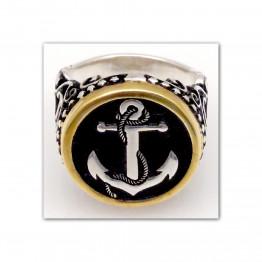 خاتم فضة عيار 900