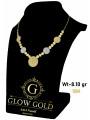 كوليه ذهب عيار 18 من Glow Gold 6650
