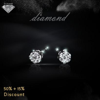 حلق ألماس من Dr.Diamond 4935