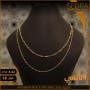 سلسلة ذهب عيار 18 من ايجيبت جولد Egypt gold 3740