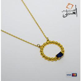 كوليه ذهب عيار 18 من Egypt gold