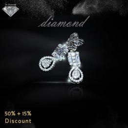 حلق ألماس من Dr.Diamond