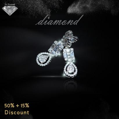 حلق ألماس من Dr.Diamond 23090