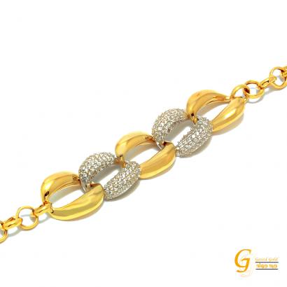انسيال ذهب عيار 18 من جيد جولد Gaied Gold 14105