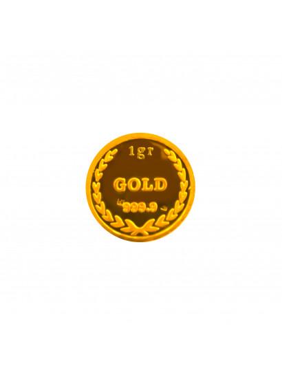 سبيكة ذهب عيار 24 من جيد جولد Gaied Gold 1030