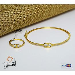 نصف طقم ذهب عيار 18 من ايجيبت جولد Egypt gold