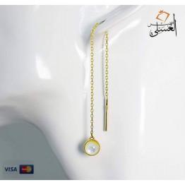 حلق ذهب عيار 18 من ايجيبت جولد Egypt gold