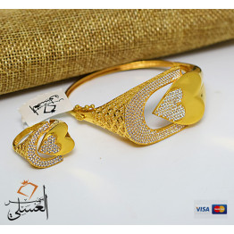 نصف طقم ذهب عيار 21 من ايجيبت جولد Egypt gold
