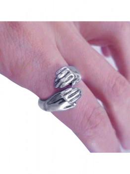 خاتم حريمى فضة عيار 925