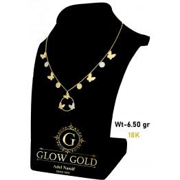 كوليه ذهب عيار 18 من Glow Gold